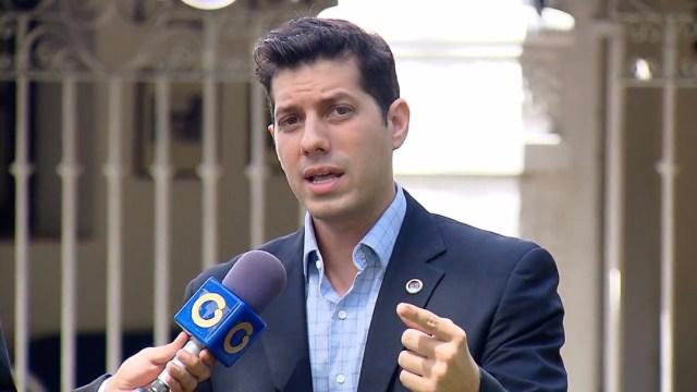 Eric Ondarroa, secretario general de la Alianza del Lápiz   Prensa Medios Alianza del Lápiz
