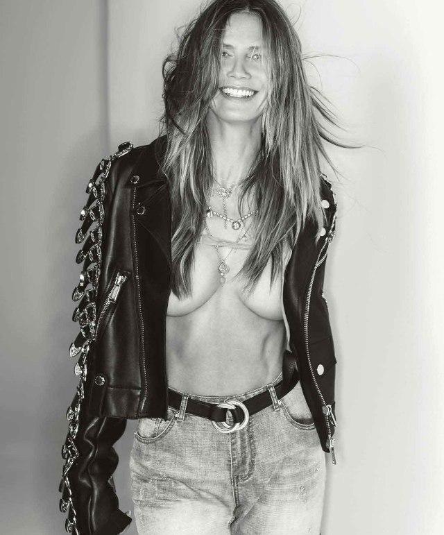 Heidi Klum Maxim Credit: Gilles Bensimon
