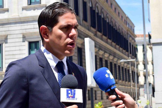 El diputado venezolano, Lester Toledo (Foto: Nota de prensa)