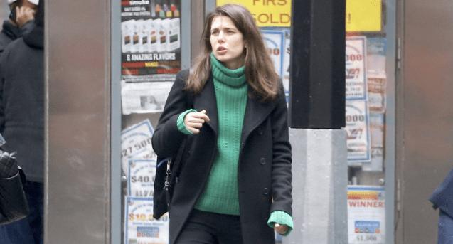 Carlota Casiraghi, a quien ya se le nota el embarazo (Foto: GTRES)