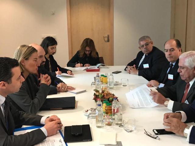 Unión Europea Federica Mogherini y oposición (6)