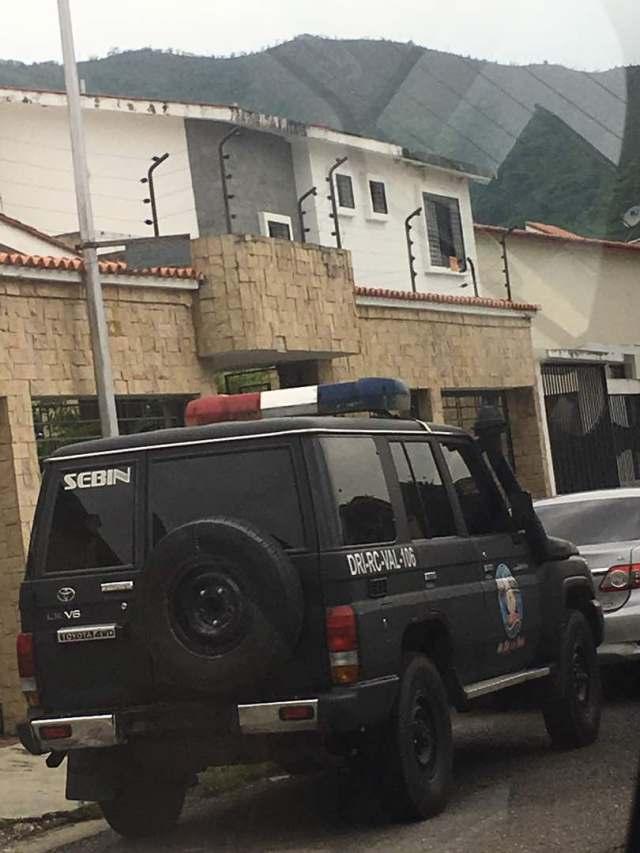 El hogar del magistrado está ubicado en Valencia, estado Carabobo.