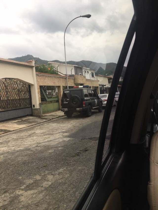 El Servicio Bolivariano de Inteligencia Nacional (Sebin) allanó la casa de Miguel Ángel Martin, presidente del Tribunal Supremo de Justicia en el exilio.