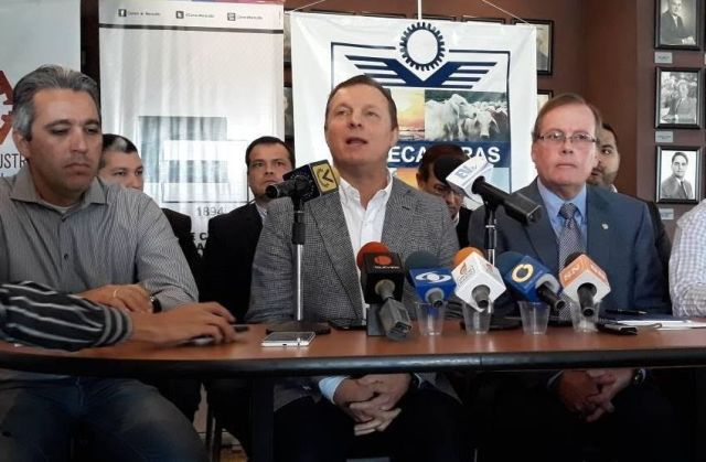 Representantes de la Cámara de Comercio de Maracaibo