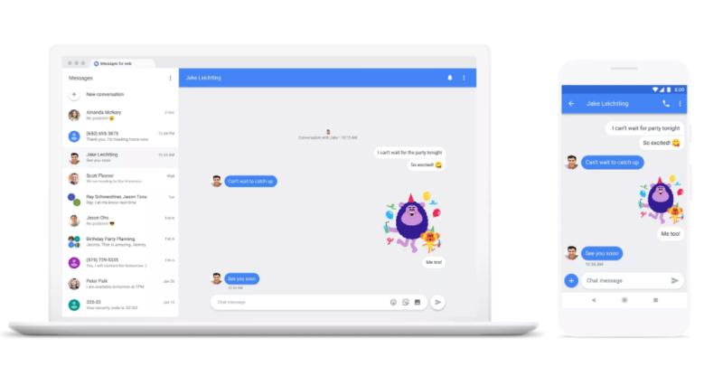 Chat, la aplicación de Google para derrocar a WhatsApp