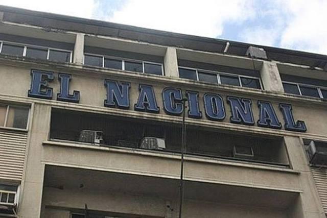 Fachada de la sede de El Nacional, ubicada en El Silencio. Foto: el-nacional.com