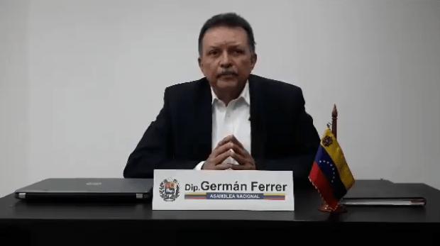 Foto: Germán Ferrer, diputado a la Asamblea Nacional