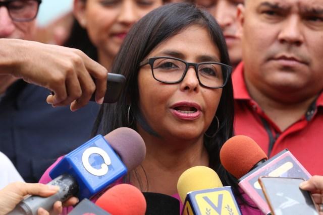 Delcy Rodríguez, presidenta de la Asamblea Nacional Constituyente // Foto AVN