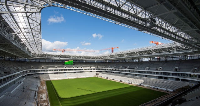 El estadio de Kaliningrado. Foto: RT