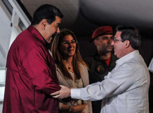 fue recibido por el ministro de Relaciones Exteriores, Bruno Rodríguez Parrilla /Foto: Ariel Cecilio Lemus/granma.cu