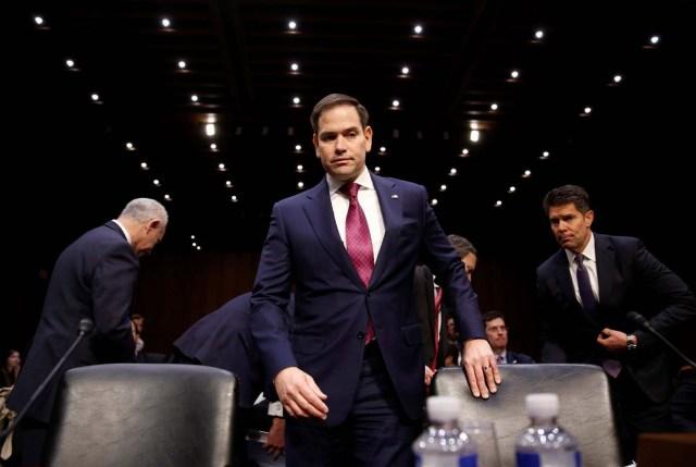 El senador Marco Rubio (Foto archivo REUTERS/Joshua Roberts)