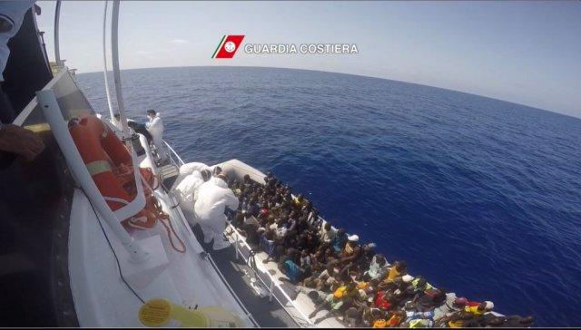 migrante mediterraneo