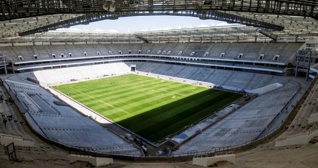 Visión general del estadio Rostov Arena. Foto: RT