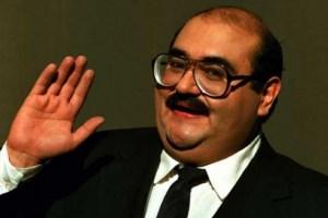 """La foto inédita de Edgar Vivar, el """"Señor Barriga"""", que se publicó en el Twitter del Profesor Jirafales"""
