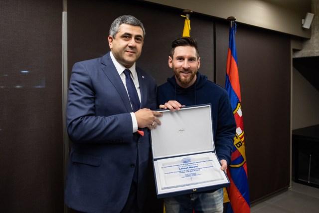 Llotja presidencial - FC Barcelona - Leganes