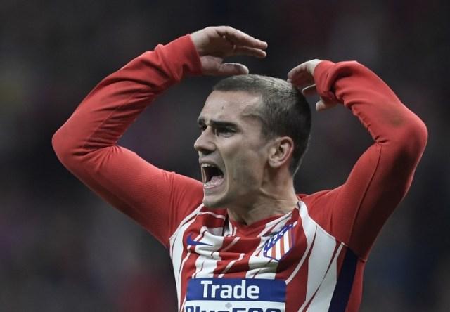 Antoine Griemann, delantero del Atlético de Madrid | FOTO: AFP / GABRIEL BOUYS