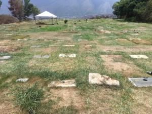 Retiraron placas del Cementerio del Este para resguardarlas de la delincuencia (Video)