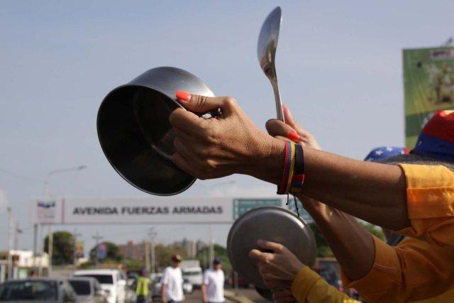 Los cacerolazos se hicieron presente este domingo 20 de mayo | Foto Referencia
