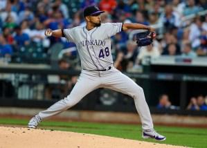 Germán Márquez conduce el triunfo de los Rockies sobre los Mets