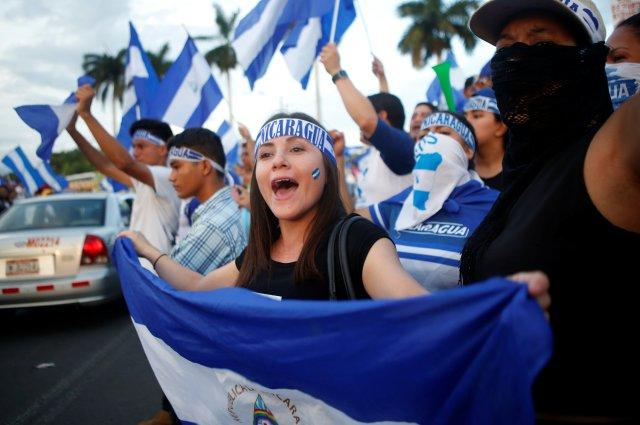 Foto archivo de protesta. REUTERS/Oswaldo Rivas