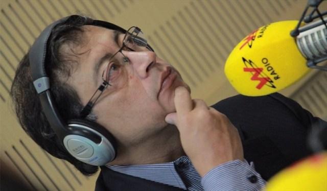 El candidato presidencial, Gustavo Petro, habló sobre diversos temas | Foto Foto: La Wcon Julio Sánchez Cristo