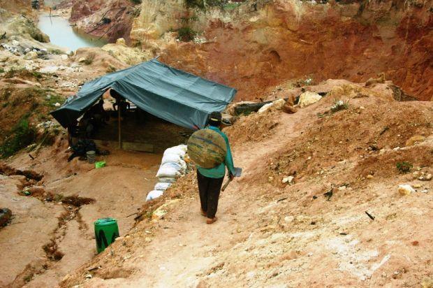 En menos de un mes se han dado dos enfrentamientos en minas de Guasipati por la presunta incursión del ELN | Foto: El Correo del Caroní