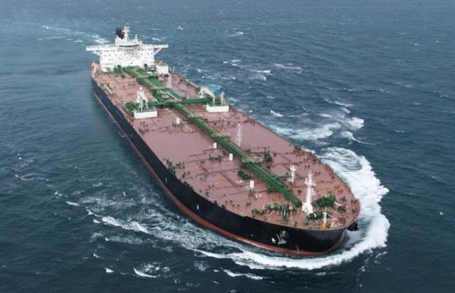 Referencial. Buque tanque petrolero del tipo Very Large Crude Carrier (VLCC) / Cortesía
