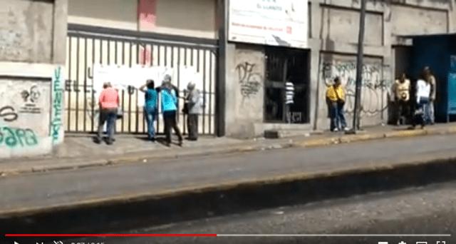 Unidad Educativa El LLanito. Foto captura de pantalla