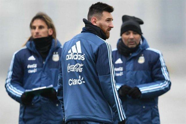 Lionel Messi, capitán de la selección Argentina   Foto: @LaNacion