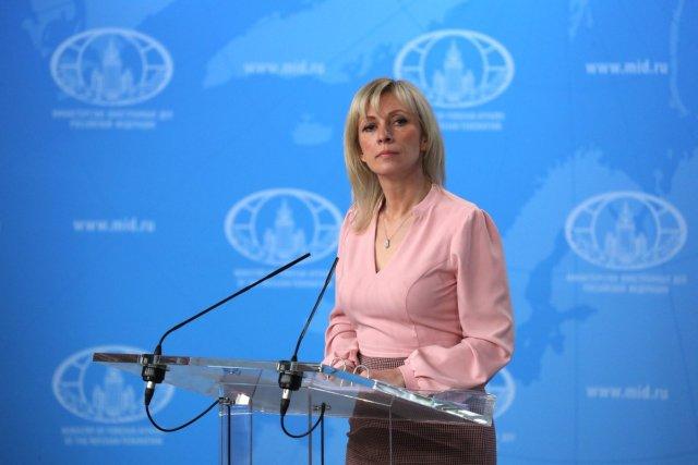 María Zajárova, portavoz del Ministerio de Asuntos Exteriores ruso | @Mae_Rusia