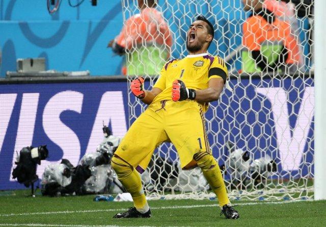 Sergio Romero, portero titular de la selección Argentina | @SC_ESPN
