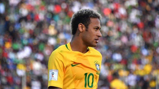 Neymar Jr, capitán de la selección de fútbol de Brasil | FOTO: @DeportesRCN