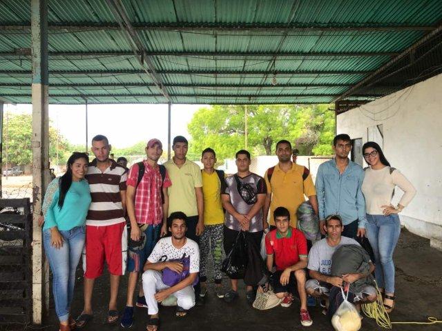 10 presos políticos liberados en el Zulia. Foto:@HimiobSantome