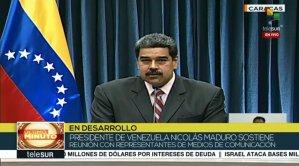 Maduro se reunió con directivos de medios de comunicación en Miraflores #29May
