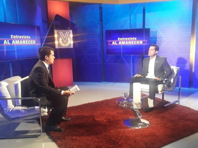 Eric Ondarroa en Entrevista Al Amanecer