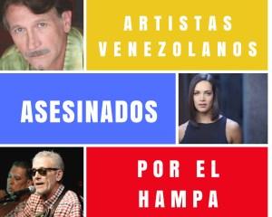 ¡HAMPA DESATADA! Estos han sido los artistas venezolanos asesinados por la delincuencia