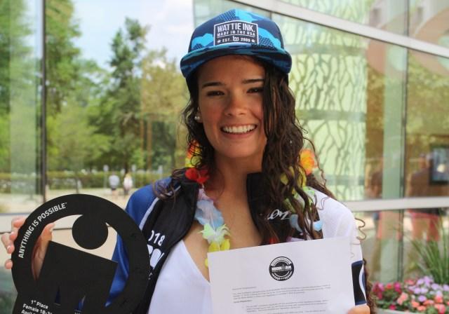 La venezolana Zoe Bello tiene ahora el reto de participar el 13 de octubre de 2018 en el Campeonato Mundial IRONMAN de Hawai | FOTO: Nota de Prensa