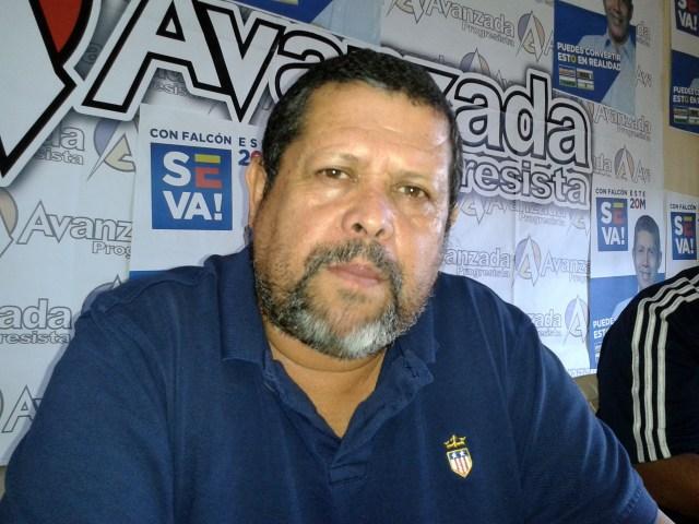 John Gutierrez , dirigente de Avanzada Progresista