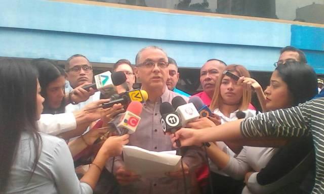 Foto: Lisandro Cabello, secretario de gobierno del estado Zulia / Radio Fe y Alegría