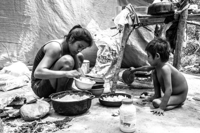 Completan un año en territorio colombiano, desplazados por la violencia de la frontera con Venezuela. Necesitan protección y ayuda. Angélica Cuevas - Dejusticia