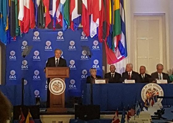 Foto: El secretario general de la Organización de los Estados Americanos (OEA), Luis Almagro / Tamara Suju