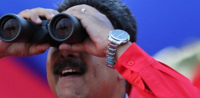 Nicolás Maduro durante un acto proselitista en la ciudad de Cumaná, Sucre, 1l 11 de Mayo de 2018 / Foto AVN