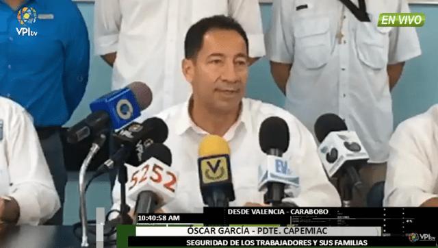 Foto: Presidente de Capemiac inicia una huelga de hambre en solidaridad con los trabajadores venezolanos / VPI