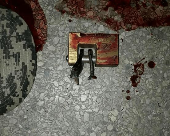Los delincuentes se llevaron cuatro fusiles AK-103 y una pistola 9 milímetros (Foto: Eleazar Urbaez @FEDGLOCK)