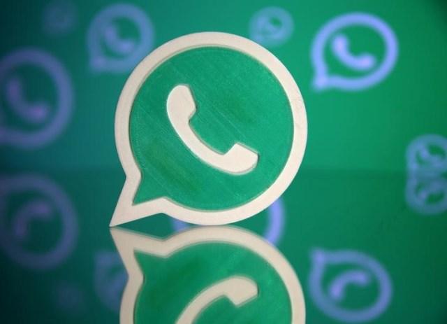 Ilustración fotográfica con el logo del servicio de mensajería por internet WhatsApp, sep 14, 2017. REUTERS/Dado Ruvic