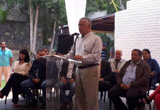 Claudio Fermín, jefe de campaña de Henri Falcón / Foto @claudioefermin