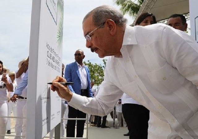 Presidente de República Dominicana, Danilo Medina // Foto PositivoDanilo