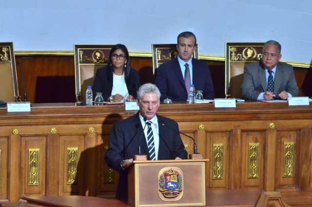 Miguel Díaz-Canel, presidente de Cuba // Foto @VTVcanal8