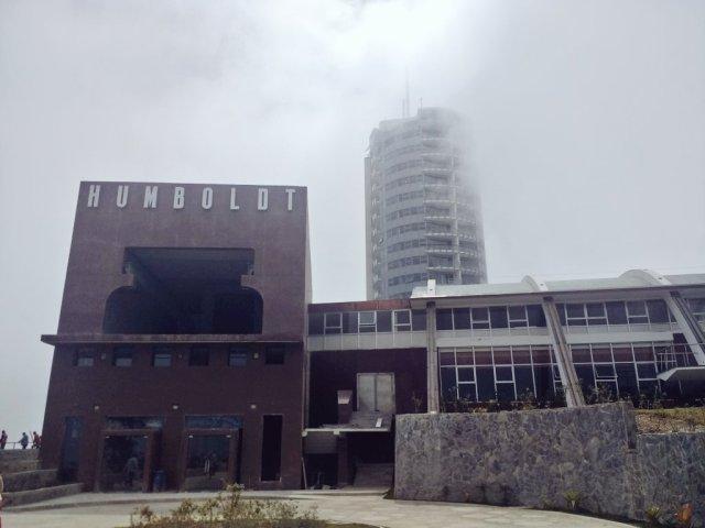 Hotel Humboldt en el Parque Nacional El Ávila / FOTO @VTVcanal8