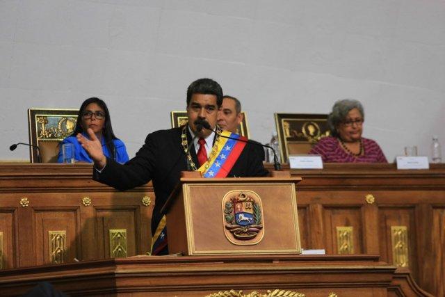 Nicolás Maduro en la ANC // FOTO @PresidencialVen